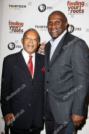 Henry Louis Gates Jr. and Harry Carson