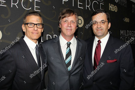Michael Lombardo, Todd Haynes and Kary Antholis