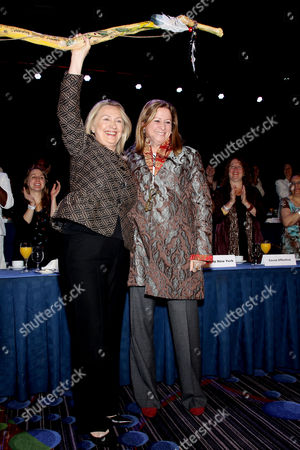 Hillary Clinton, Abigail E. Disney