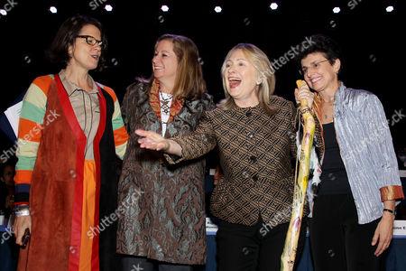 Anne E. Delaney, Abigail E. Disney, Hillary Clinton and Ana L.Oliveria