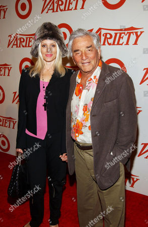 Shera Danese with Peter Falk