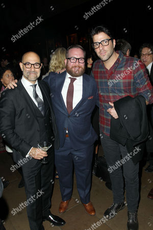 Stanley Tucci, Michael Cyril Creighton, Zachary Quinto