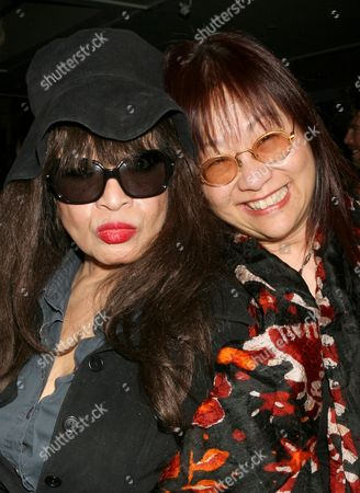 Ronnie Spector and May Pang