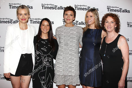 Taylor Schilling, Lucy Liu, Maggie Gyllenhaal, Mira Sorvino and Patricia Cohen