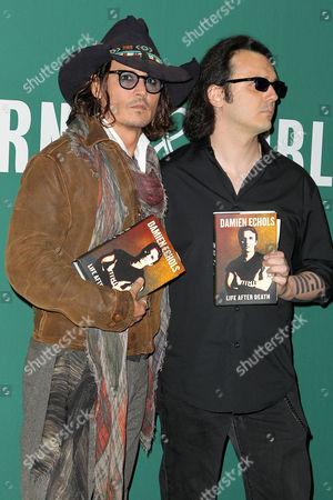 Johnny Depp and Damien Echols