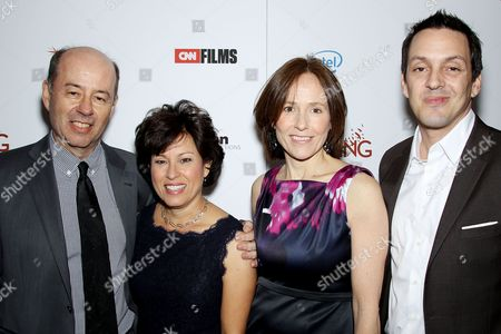 Stock Picture of Tom Yellin, Shelly Esque, Holly Gordon and Richard Robbins