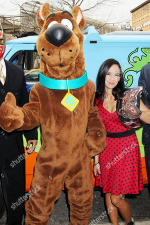 Editorial picture of 'Scooby Doo Wrestlemaina Mystery' VIP Screening, New York, America - 22 Mar 2014