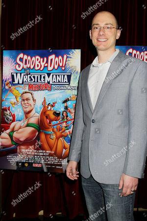 Editorial photo of 'Scooby Doo Wrestlemaina Mystery' VIP Screening, New York, America - 22 Mar 2014