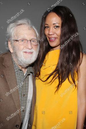 Stock Photo of Alvin Epstein and Margaret Betts
