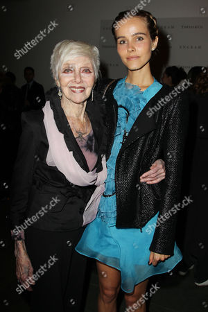 Stock Photo of Lucille Patton and Isabel Lucas