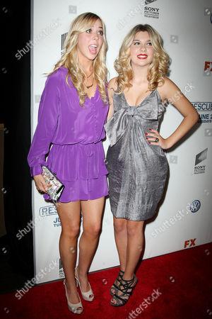 Natalie Distler and Olivia Crocicchia