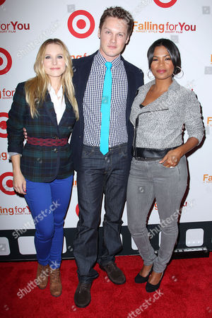 Stock Picture of Kristen Bell, Zachary Abel and Nia Long