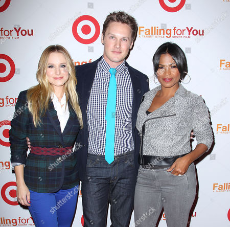 Kristen Bell, Zachary Abel and Nia Long