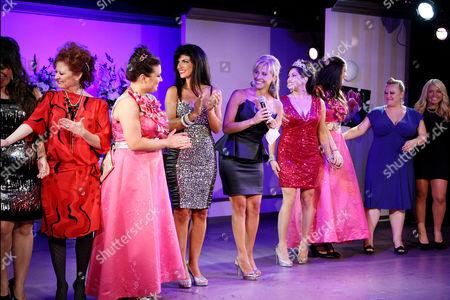Caroline Manzo, Lauren Manzo, Teresa Giudice, Dina Manzo, Jacqueline Laurita and Ashley Holmes