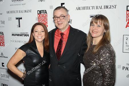 Stock Photo of Dawn Roberson, Steven Williams, Johanna Osburn
