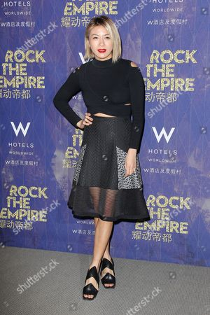 Editorial picture of W Beijing launch at W Hotel, New York, America - 19 Feb 2015