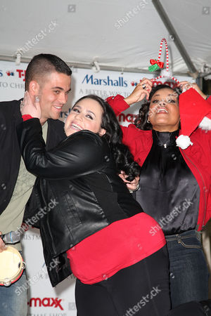 Mark Salling, Nikki Blonsky and Kimberly Locke