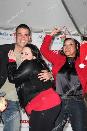 Mark Salling, Nikki Blonsky and Kimberly Locke