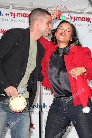 Mark Salling and Kimberly Locke