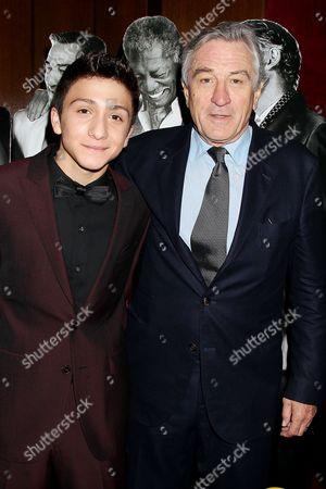 Stock Image of R J Fattori and Robert De Niro