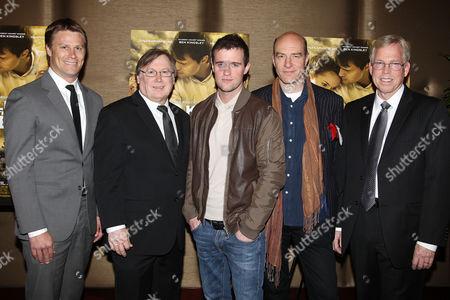 Stock Photo of Shawn Schmidt, Mark Schmidt, Jonas Armstrong, Simon Kunz and Randy Williams