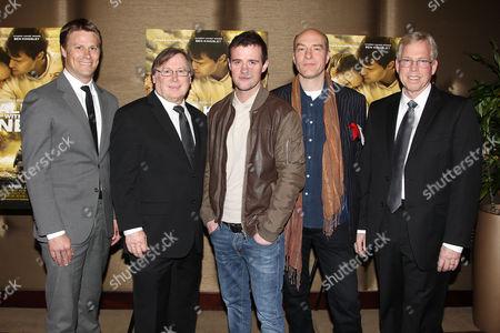 Shawn Schmidt, Mark Schmidt, Jonas Armstrong, Simon Kunz and Randy Williams