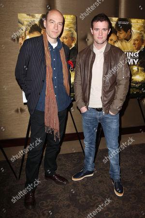 Stock Image of Simon Kunz and Jonas Armstrong