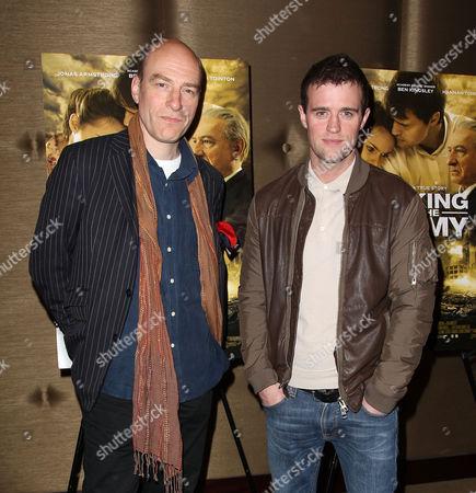 Simon Kunz and Jonas Armstrong