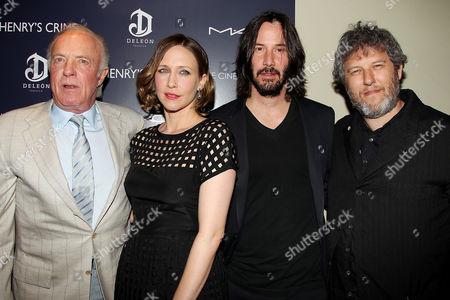 James Caan, Vera Farmiga, Keanu Reeves and Malcolm Venville