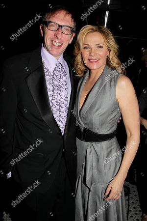 Stock Image of Keith Bearden and Kim Cattrall