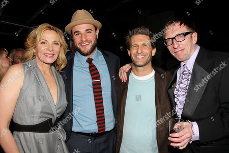 Kim Cattrall, Josh Horowitz, Gary Gilbert and Keith Bearden