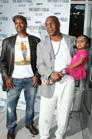 Reggie Rock Bythewood,, Mike Tyson with daughter Milan