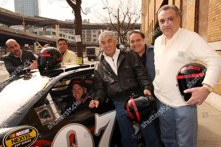 John Ventimiglia, Steve Schirripa, Clint Bowyer, Frank Vincent, Joe Gannascoli and Vincent Curatola