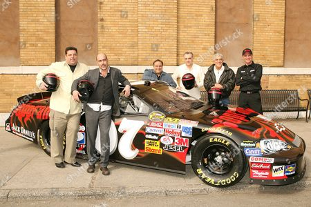 Stock Picture of Frank Vincent, Joe Gannascoli, Vincent Curatola, Clint Bowyer, Steve Schirripa, John Ventimiglia