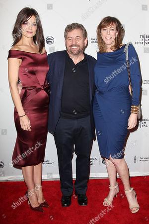 Katie Holmes, Jim Dolan and Jane Rosenthal