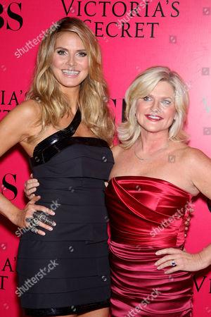 Heidi Klum and Sharen Turney (Victoria's Secret CEO)