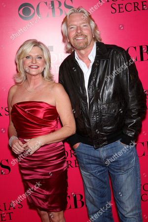Sharen Turney (Victoria's Secret CEO) and Richard Branson