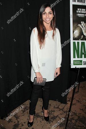 Editorial photo of 'Namath' film premiere, New York, America - 25 Jan 2012