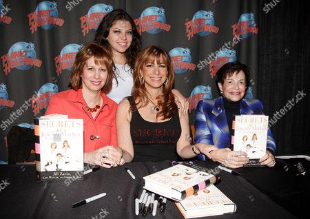 Lisa Wexler, Ally Shapiro Zarin, Jill Zarin and Gloria Kamen