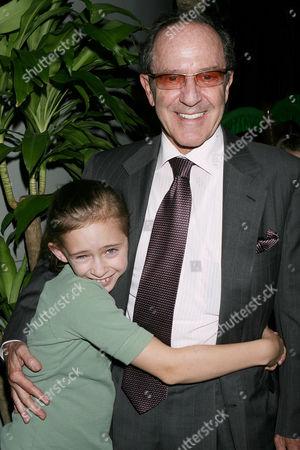 Mort Zuckerman with daughter Abigail