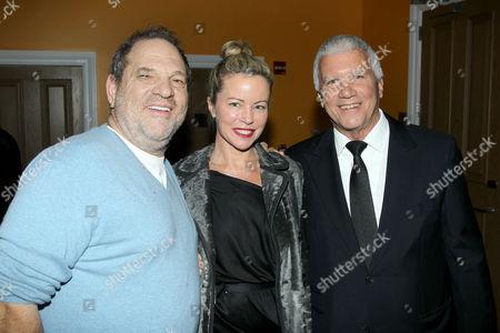 Harvey Weinstein, Chrissie Erpf, Larry Gagosian