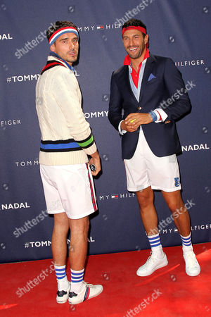 Stock Photo of Arthur Kulkov and Noah Mills