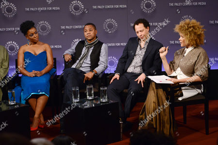 Aunjaunue Ellis, Cuba Gooding Jr, Lawrence Hill and Michaela Angela Davis