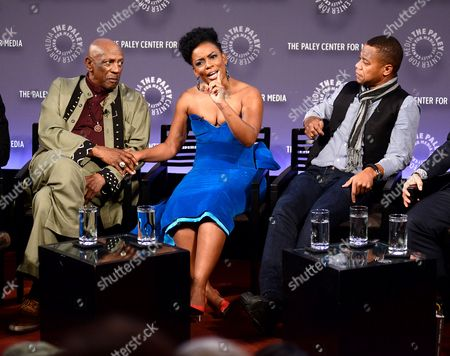 Editorial image of Paley Center for Media 'The Book of Negroes' TV series screening, New York, America - 16 Dec 2014