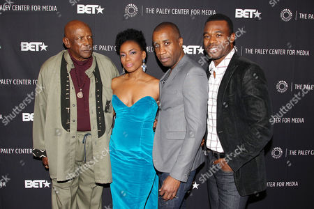 Lou Gossett Jr, Aunjaunue Ellis, Clement Virgo (Director; Book of Negroes), Lyriq Bent