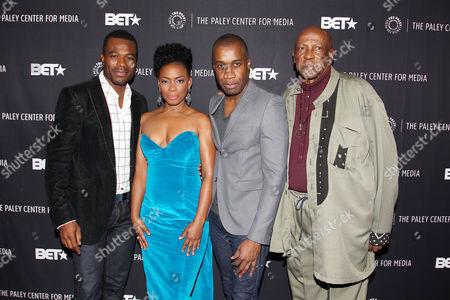 Lyriq Bent, Aunjaunue Ellis, Clement Virgo (Director; Book of Negroes), Lou Gossett Jr