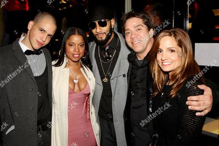 Richie Hilfiger, Mashonda, Swizz Beatz, Andy and Kim Hilfiger