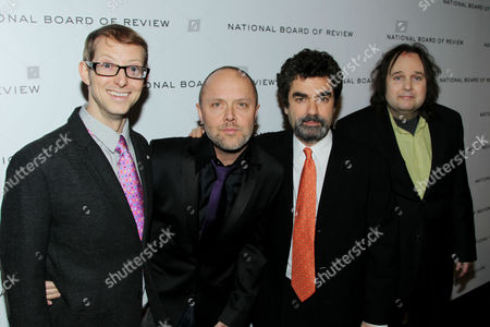 Jason Baldwin, Lars Ulrich, Joe Berlinger and Bruce Sinofsky