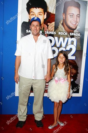 Adam Sandler and Alexys Nycole Sanchez