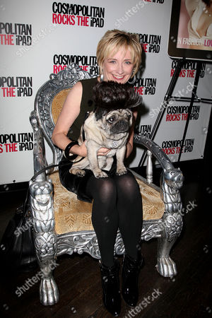 Kate White (Editor-in-Chief Cosmo) and Puggy D